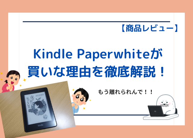kindle-paperwhite-recommendation